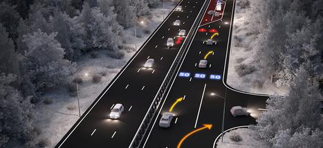 Voici l'autoroute du futur (mais pas pour tout de suite) | route intelligente | Scoop.it