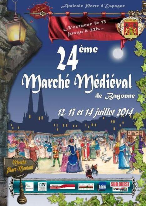Marché Médiéval 2014 de Bayonne   vue sur les Pyrenees   Scoop.it