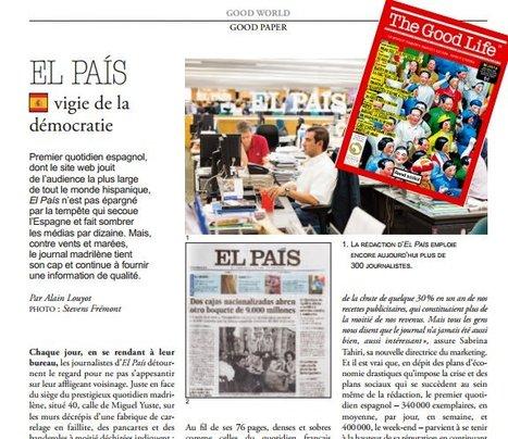 Espagne: El Pais, vigie de la démocratie | DocPresseESJ | Scoop.it