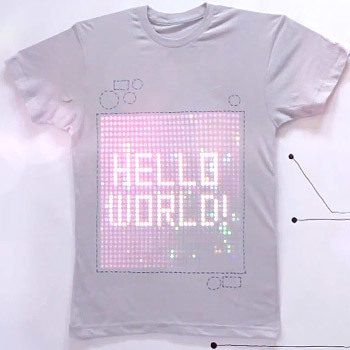 The World's First Programmable LED T-Shirt | Curiosidades de la Red | Scoop.it