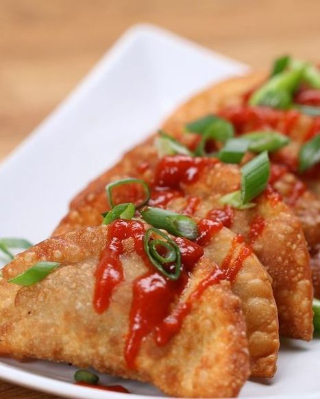#Recipe : Easy Fried Beef Dumplings | DIY & Crafts | Scoop.it