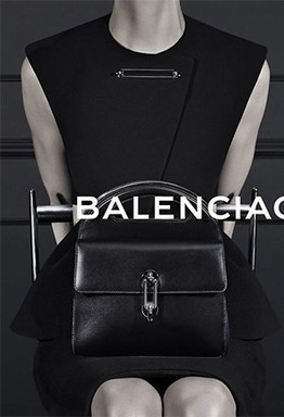 Kristen McMenamy Not Smizing in Second Balenciaga Fall 2013 Ad Image - The Fashion Spot | spring 2013 men's fashion trends | Scoop.it