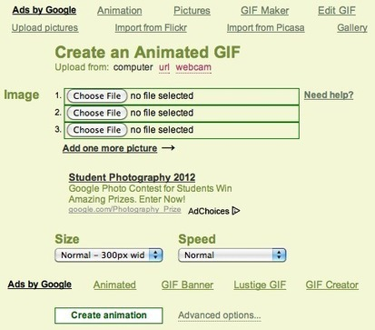 Picasion - Create GIF animations online - Make an Animated GIF - GIF Animator | Technology Ideas | Scoop.it