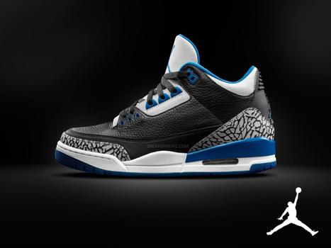 "Air Jordan 3 Comes In The ""Sport Blue"" Colorway Equniu | Sneaker Heat | Scoop.it"