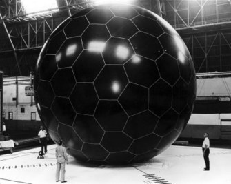 Retronaut - 1966: PasComSat Passive Communications Satellite | Histoire et sciences | Scoop.it