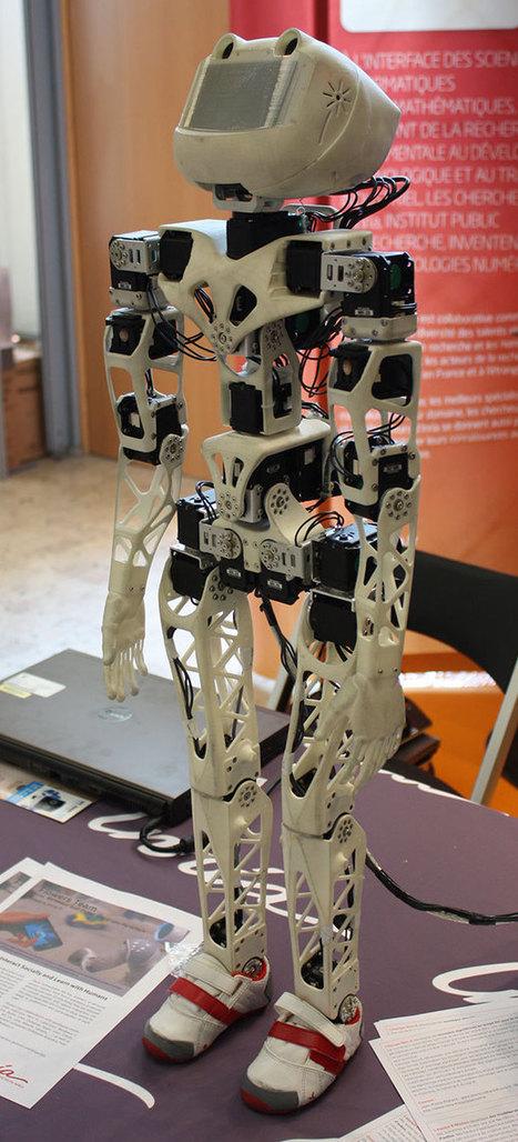 Le robot open source Poppy présenté à François Hollande | 21st Century Innovative Technologies and Developments as also discoveries, curiosity ( insolite)... | Scoop.it