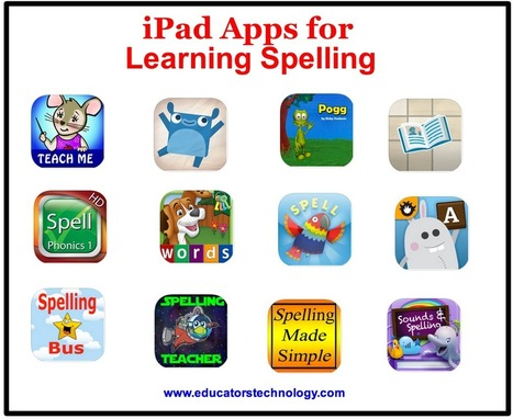 Speak & Spell: 25 iPad Apps for Learning Spelling | Everything iPads | Scoop.it