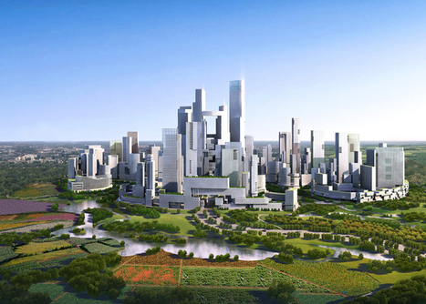 A high-density, car-free vertical city in Chengdu, China | Urbanisme | Scoop.it