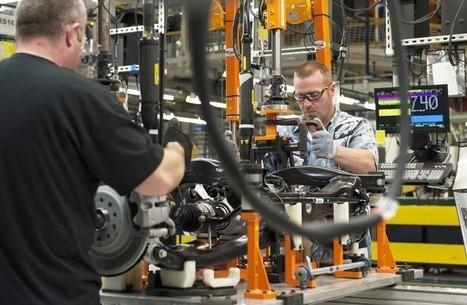 Ralentissement inattendu de la croissance dans l'industrie américaine   Renaissance de l''industrie américaine   Scoop.it