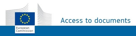 (MULTI) - Welcome to the access to documents page | European Commission | Glossarissimo! | Scoop.it
