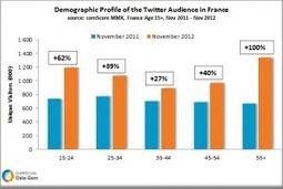 Who Is Using Twitter in France? | Vous avez dit (réseau) social? | Scoop.it
