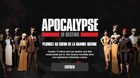 """Apocalypse 10 destins"": un webdocumentaire sous forme de BD animée 
