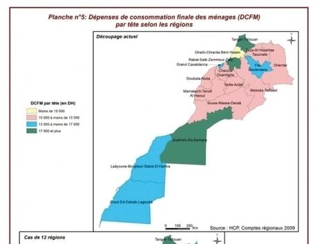 Conjoncture régionale : Les disparités du PIB restent intenables - LE MATIN.ma   Actualités des régions du Maroc   Scoop.it