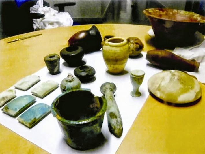 France to return 239 artefacts to Egypt   The Archaeology News Network   Kiosque du monde : Afrique   Scoop.it