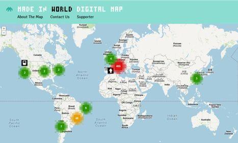 Cerchi un lavoro nel Web? Ora una mappa ti dice dove trovarlo | Roma Gratis - Rome for free | Scoop.it