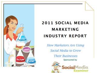 SOCIAL MEDIA REPORT: 2011 Social Media Marketing Industry Report | Social Media Measurement: My Personal Learning Network | Scoop.it