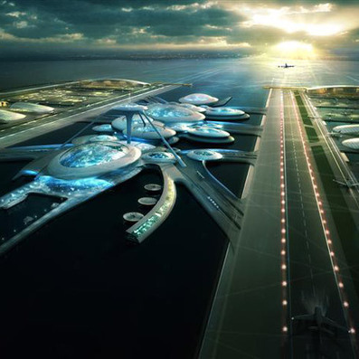 FLOATING London airport proposal by Gensler | The Architecture of the City | Scoop.it