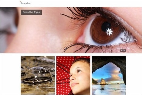 Snapshot is a free Photography WordPress Theme by SiteOrigin | WP Daily Themes | Free & Premium WordPress Themes | Scoop.it
