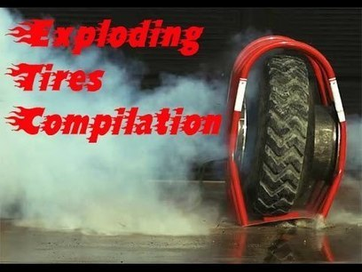 Exploding Tires Compilation - YouTube | Fail Videos and Funny Stuff | Scoop.it