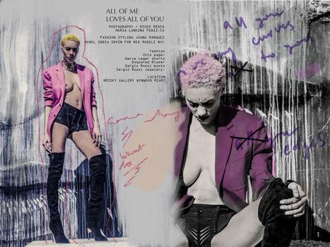 Fashion Editorial Mixed Media | Fashion Rebel | Scoop.it