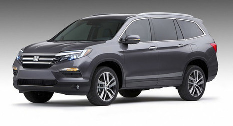 Carscoops: 2016 Honda Pilot – These Are The First Official Photos! | Consumer Automotive News | Scoop.it