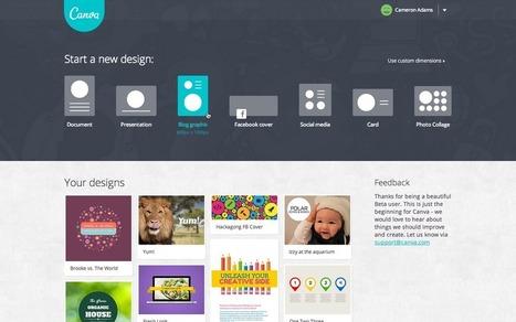 Canva, herramienta para crear infografías y más cosas   MediosSociales   Scoop.it