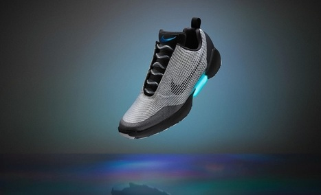 Nike HyperAdapt : élever le gadget au rang d'Art | Materiaux nouveautés | Scoop.it