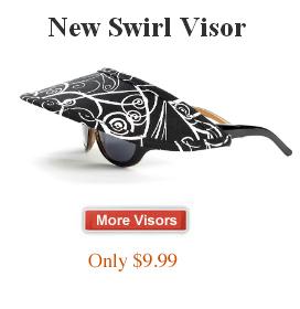 Visors for Women: Strapless, No-Headache, and Comfortable Sun Visors | vizini | Scoop.it