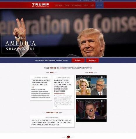 A UX Designer Explains Which Presidential Candidate Has The Best (And Worst) Website | Brave New Digital World | Scoop.it