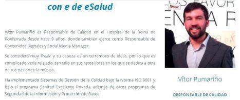 Vítor Pumariño:«Implicar a gestores y profesionales en eSalud, clave de éxito» | AIES esalud | eSalud Social Media | Scoop.it