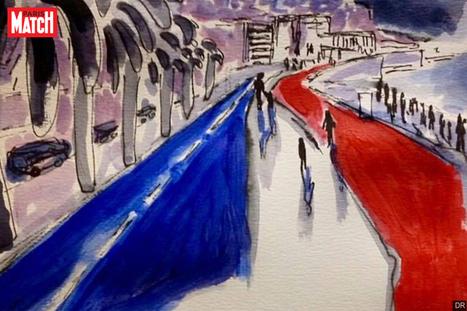 Attentat à Nice: L'hommage des dessinateurs | J'adore le français! | Scoop.it