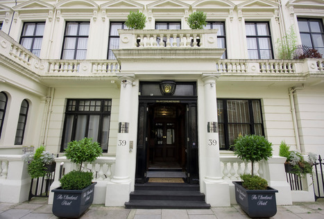 Cleveland Hotel - Ground Floor Deluxe Studio Suite, accommodation for disabled in London, United Kingdom - Handiscover | Accessible Tourism | Scoop.it