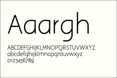 50 Awesome Free Sans-Serif Fonts | Random Ephemera | Scoop.it