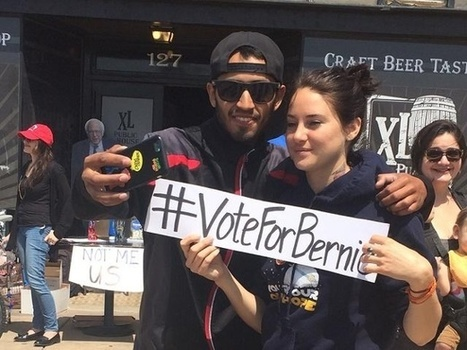 Celebrities campaign for Bernie Sanders in Salinas | Business Video Directory | Scoop.it