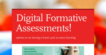 Digital Formative Assessments! | MLSHS eLearning | Scoop.it