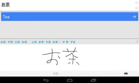 Google Translate For Android Understands Handwriting Of 13 More Languages | The translation studies portal | Scoop.it