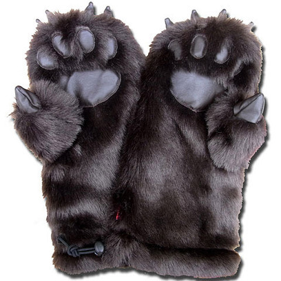 Grizzly Mitten Gloves | All Geeks | Scoop.it