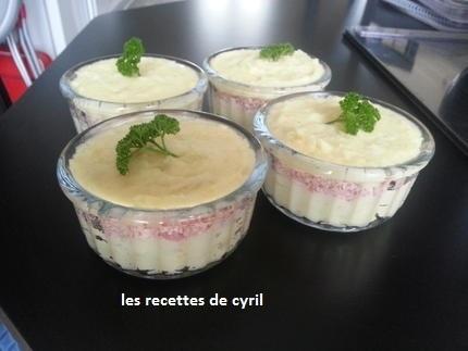 Petit parmentier de jambon | Recettes de cuisine | Scoop.it
