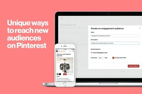 Pinterest Announces New Re-Targeting Options, Boosting Advertiser Potential | Pinterest | Scoop.it