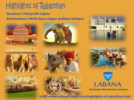 Explore the magnificience of Rajasthan with its vivid destination | Rajasthan Tourism | Scoop.it