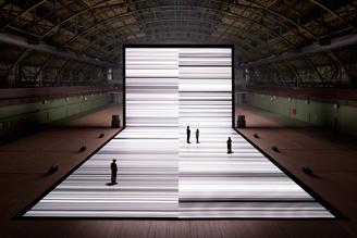 Ryoji Ikeda - test pattern [n°4] - du 06/04/2013 au 15/09/2013 - Cité des arts | art move | Scoop.it