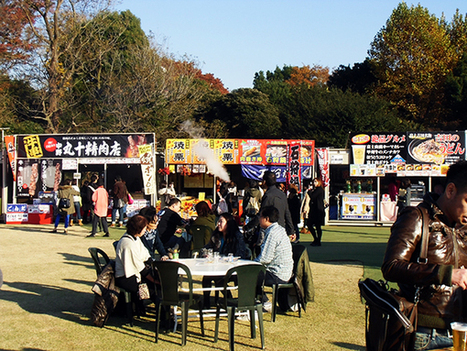 Falling of Leaves Festival @ Gaienmae! Super great food with uber great scenery~ | JapanxHunter | JapanxHunter | Scoop.it