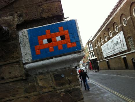 Le street artiste Invader lance son application de jeu de piste | Street Art, échappatoire de l'oeil | Scoop.it