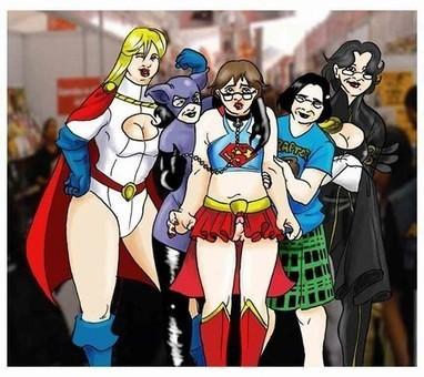 Supergirl Sissy by Crimson Kid | M3 - Meat Male Magazine - Carne de hombre | Scoop.it