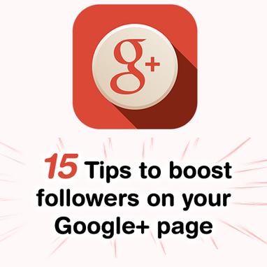 Google Plus : conseils pour accroître le nombre d'abonnés à votre ... | Web marketing et réseaux sociaux | Scoop.it