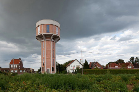 Stunning Water Tower Conversion in Belgium Bursting With Modern Details   Extreme Architecture   News, E-learning, Architecture of the future at news.arcilook.com   Architecture news   Scoop.it