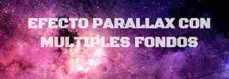 Como crear un sencillo efecto parallax usando solo CSS | Html5 y Css3 | Scoop.it