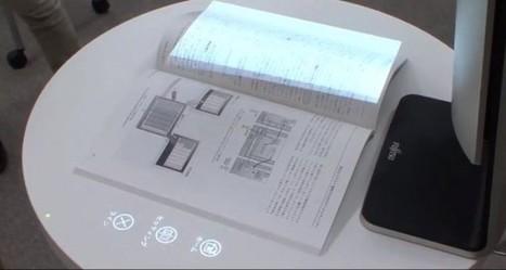 Fujitsu transforme les documents en papier en écrans tactiles interactifs | Actinnovation© | GADGETS HITECH | Scoop.it