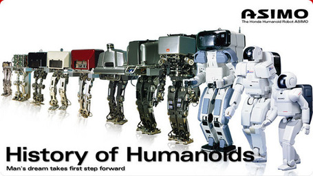 robot history -Asimo- | Vulbus Incognita Magazine | Scoop.it