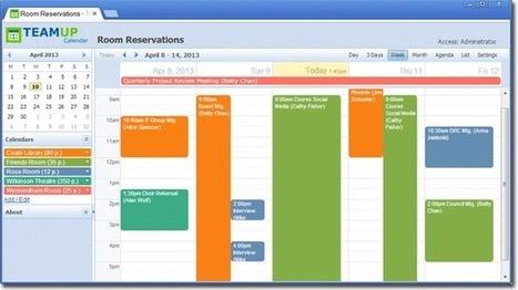 Teamup Calendar | Shared Calendar for Groups & Projects | calendar | Scoop.it